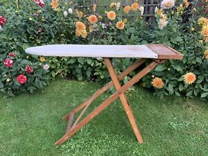 Old Vintage Wooden Ironing Board