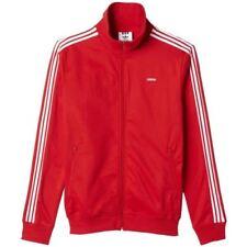 Adidas Originals Hombre Beckenbauer OG Chaqueta Azul Marino Rojo Clásico Casual