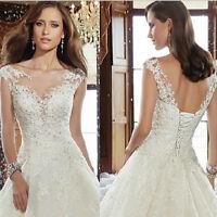 Luxus Spitze Brautkleid Hochzeitskleid Kleid Braut von Babycat collection BC535