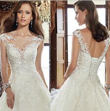 Spitze Brautkleid Hochzeitskleid Kleid Braut Babycat collection ivory BC535C 34
