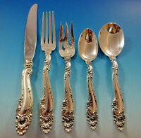 Decor by Gorham Sterling Silver Flatware Set For 12 Service 60 Pieces Shell