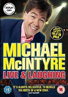Michael McIntyre - Live And Laughing (DVD, 2008) New & Sealed