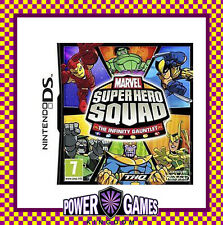 Marvel Super Hero Squad The Infinity Gauntlet (Nintendo NDS DS lite Dsi XL) BN