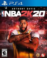 NBA 2K20 PS4 For SONY PLAYSTATION 4, 2019 BRAND NEW! SEALED GENUINE!