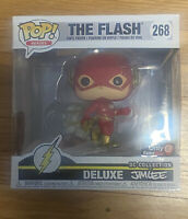 Funko Pop! The Flash #268 Gamestop Exclusive Deluxe DC Collection by Jim Lee NEW