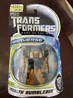 Transformers Dark of the Moon Cyberverse Stealth Bumblebee Figurine