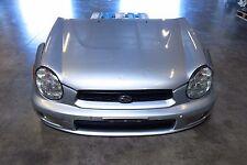 JDM 00-03 Subaru Impreza GD GG Bugeye Front Nose Cut Hood Bumper Headlights