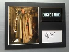 [A0751] Phil Davis Dr Who Signed 12x16 Display AFTAL
