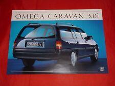 OPEL Omega A Caravan 3.0i Prospektblatt von 1987