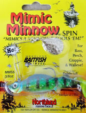 Northland Mimic Minnow Spinnerbait - 3/8Oz - Bluegill, Bass Redfin Perch Lure
