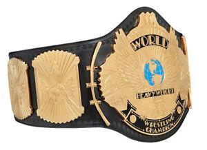 WWE MMA Winged Eagle Wrestling Championship Leather Replica Belt Adult