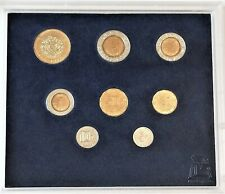 1998 Mexico Uncirculated Mint Set – 8 Coin Set