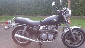moto honda cb650c 1981 ~45000kms non justifies