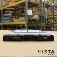 IBM BladeCenter HS23 2P E5-2667v2 6C 2.9GHz 64GB 2x300GB Blade Server