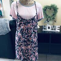 Womens Tunic Dress Shirt BOBBIE BROOKS Size XL