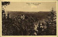 BURGK AK um 1920 Schloss Castle Marienbank Blick aus der Ferne alte Postkarte