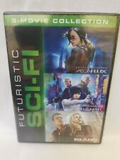 Aeon Flux, Ghost In A Shell, The Island - 3 Dvd New Sci-Fi Film Collection