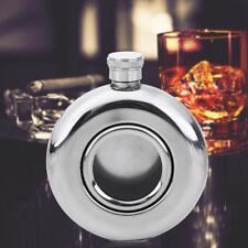 Edelstahl Flachmann Taschenkanister Schnaps Flasche 5oz Whisky Alkohol Tasche