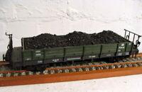 "LGB/ Spur G - Güterwagen/ Bahnmeisterei mit Ladung ""42cm Modell"" - RAR!"