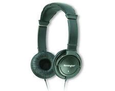 Kensington 33137 Hi-Fi Headphones - Black - Mini-phone - Wired - 9 ft Cable