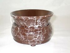 Candle/Tart Warmer (2-Piece ELECTRIC)  MARBLED MOCHA BROWN