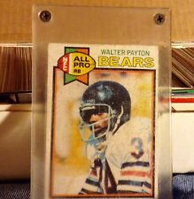 1979 Topps Walter Payton Chicago Bears #480 Football Card , and incased for 37 y