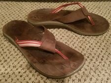 Chaco Women's Switch EcoTread Field Red Sandals US 7 Flip Flops