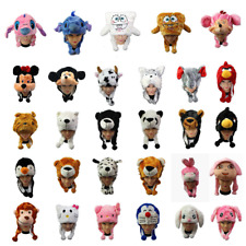 Children Kid Warm Soft Plush Cartoon Animal Hat Mask Scarf Costume Book Day Week