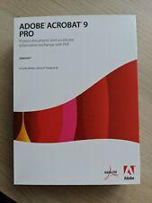 Adobe Acrobat 9 Pro - Upgrade Version - No reserve
