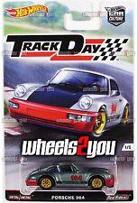 PORSCHE 964 - 2016 Hot Wheels Car Culture TRACK DAY - D Case -