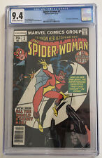 Spider-Woman 1 CGC Grade 9.4 OW/W pages 1978 Marvel Comics new origin story