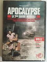 Apocalypse la seconde guerre mondiale DVD 3 épisode 5 et 6 DVD NEUF SOUS BLISTER