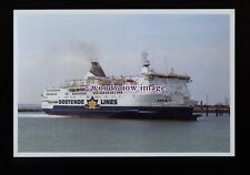 fq0105 - Belgian Oostende-Dover Ferry - Prins Filip at Ramsgate - photograph 6x4