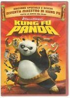 KUNG FU PANDA n. 2 dischi DreamWorks DVD ITA PAL