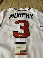 Dale Murphy Autographed/Signed Jersey PSA/DNA COA Atlanta Braves PLEASE READ