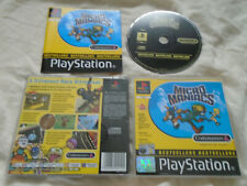 Micro Maniacs PS1 COMPLETE) Codemasters Sony PlayStation comic