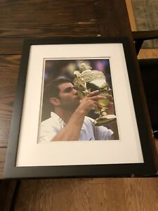 Pete Sampras Signed Framed 11x14 JSA L31405