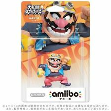 Nintendo Amiibo WARIO  Figure Super Smash Brothers 3DS Wii U From Japan