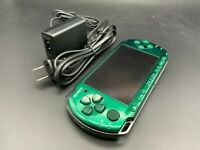 Sony PSP 3000 Launch Edition Spirited Green Handheld System Console + Charger