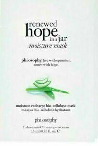 10 Philosophy renewed hope in a jar moisture mask  (10 MASKS TOTAL ) NEW