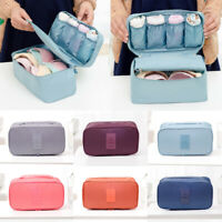 Portable Travel Protect Bra Underwear Lingerie Case Organizer Bra Storage Bag