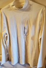Time And Tru Women's Semi-Fitted Artic White Mock Turtleneck size 3X (22)   New!