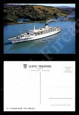 "Lloyd Triestino - nave ""Galileo Galilei"" - nuova - formato grande"
