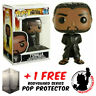 FUNKO POP MARVEL BLACK PANTHER T'CHALLA BLACK ROBE #351 EXCLUSIVE PROTECTOR