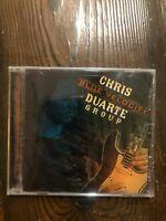 CHRIS DUARTE GROUP - Blue Velocity - CD - New Sealed-BLUES BUREAU