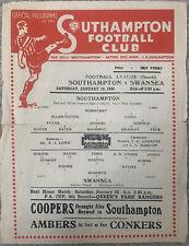 More details for southampton v swansea 1945/46