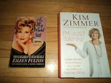 2 Soap Opera Actress Books Fulton As My World Still Turns Zimmer I'm Just Sayin