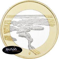 5 euros commémorative FINLANDE 2018 - Paysages Finlandais - Punkaharju - 3/9