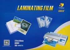 Laminating Pouches 100 Pouches 80 Micron 220 x 310mm A4 Size Premium Quality