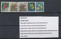 New Zealand 1960 2 1/2d SG784w Plus Extras VFU J1611